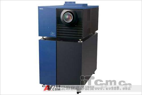 亮度两万多流明 NEC推支持3D数字放映机