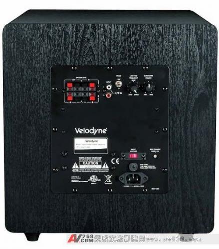 发挥令你满意的低频效果: Velodyne(威力登)Impact12寸低音炮