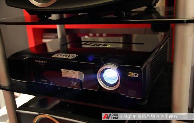 夏普3d投影机z17000评测照曝光
