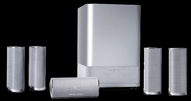 哈曼卡顿hkts11银色经典影院系统促销