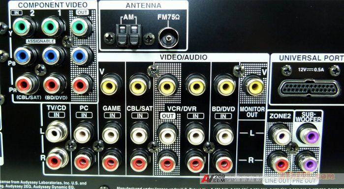 Onkyo安桥早前一口气发布了同属9系的四款AV功放,从最入门的TX-NR309、TX-NR509到中级的TX-NR579、TX-NR609,虽然定位于入门-中级失常,但同样具有中高级机的众多先进功能,其中该系列中最高级的7.2声道高清AV功放TX-NR609正式登场。  安桥TX-NR609作为2011年推出的7.2声道高清AV功放,除了高清解码外,当然也支持3D立体高清,支持最新的HDMI 1.