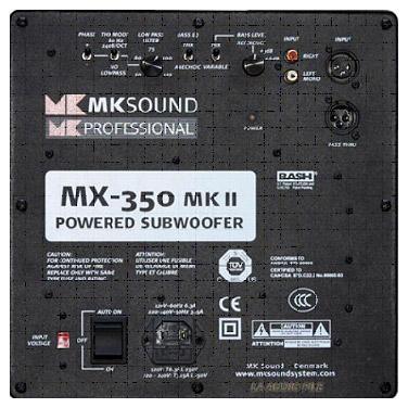 原先的mx-350thx mkii电源开关,因此一旦插入电源,它就保持在待机