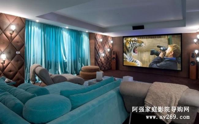 家庭影院和中小型视听室的特点