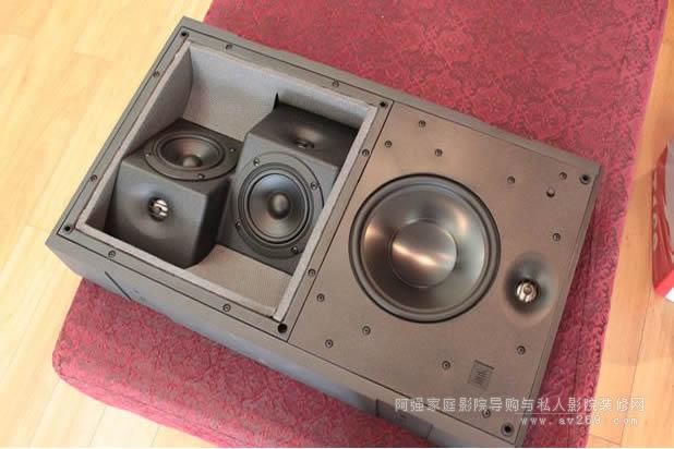JBL至尊影院系统中的S4ai双向环绕扬声器