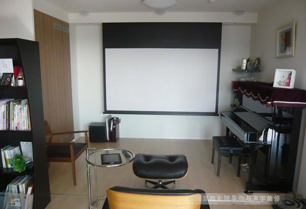 在小客厅里组建家庭影院案例欣赏