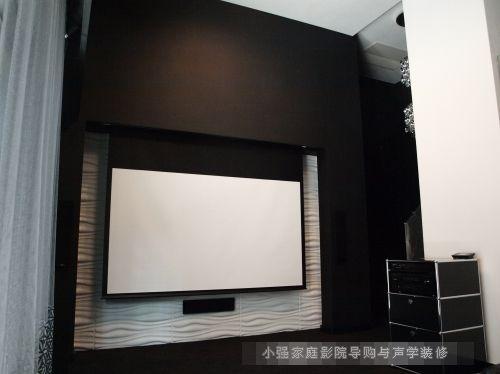 繁杂城市中的3D家庭影院黑白配