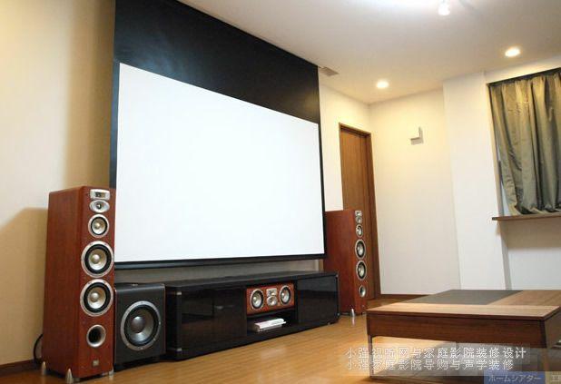 JBL音箱和爱普生投影机组建多声道家庭影院系统