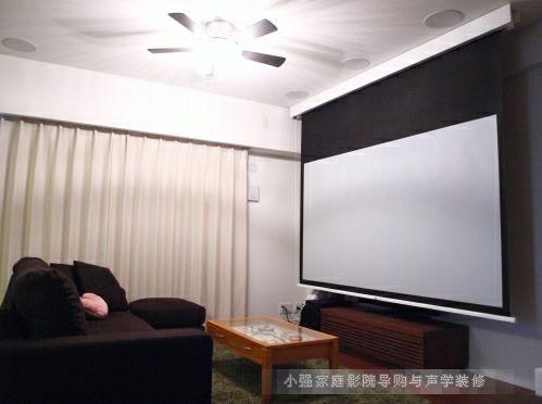 小客厅新的享受3D视频大画面