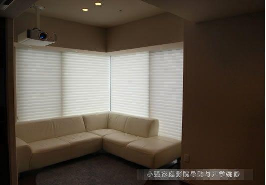 紧凑舒适 这样的厅室影院很精彩