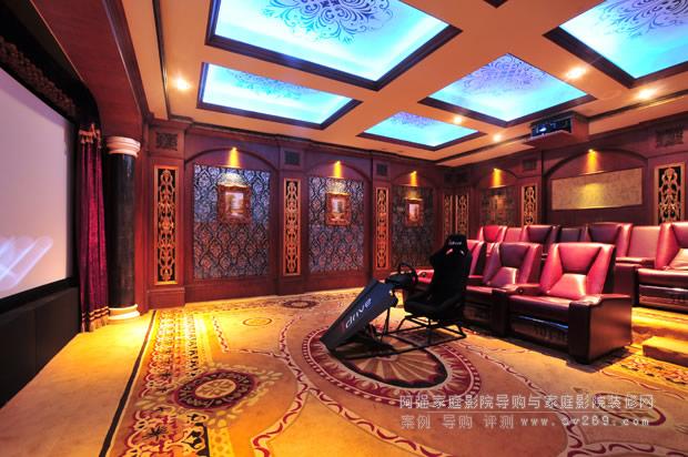 高端别墅3d私人影院装修设计