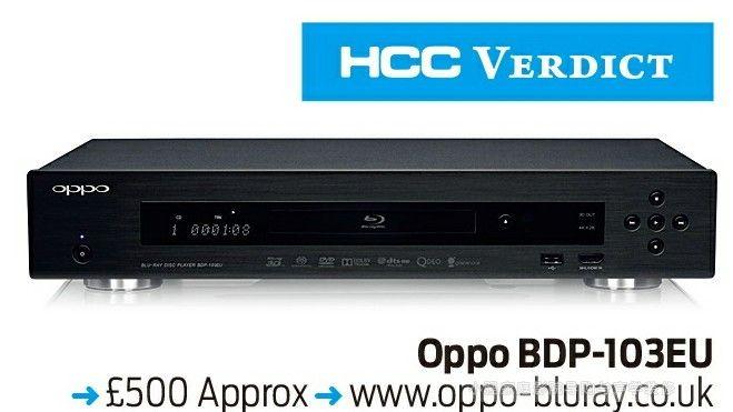 OPPO BDP103蓝光播放机发烧友钟爱品牌闪亮回归