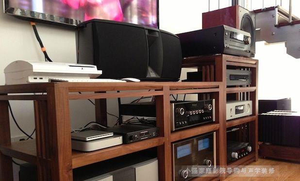 JBL雅瑞880中置和K2系列主箱等组建的多声道音响系统