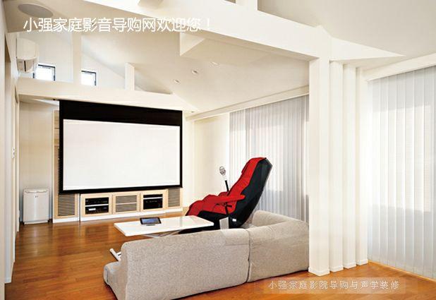 完美融合于设计师之手的客厅影院系统