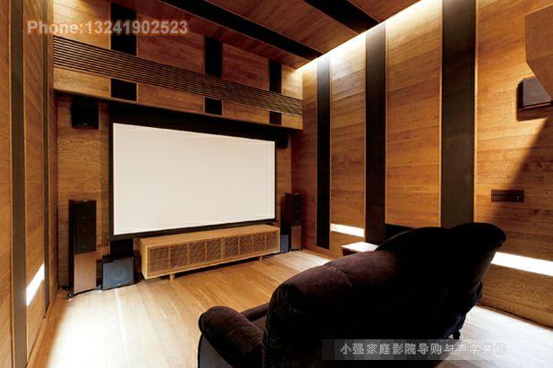 特殊空间拥有专业的影音效果