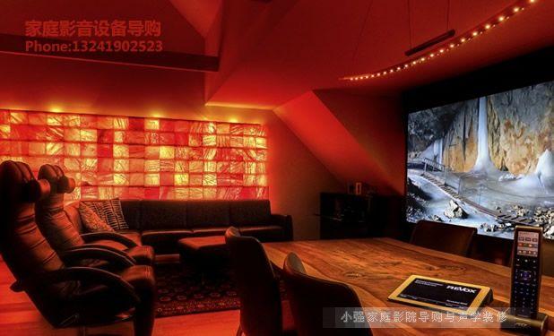 梦幻主题影院 拥有sim2高端投影设备
