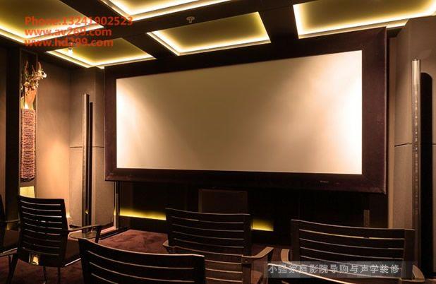 索尼超高清4K投影机视听室