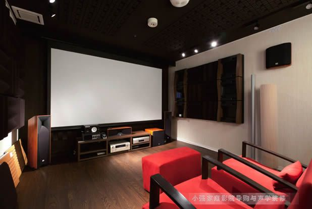 JBL音箱Studio系列组建的家庭影院案例