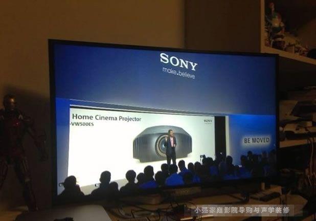 索尼最新4K超高清家用投影机VW500ES发布