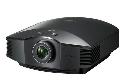 支持无线传输的索尼HW55ES高清投影机