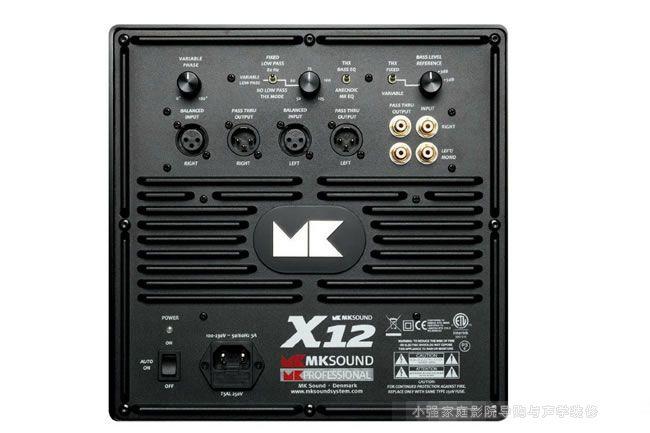 MK sound X12接线端子图