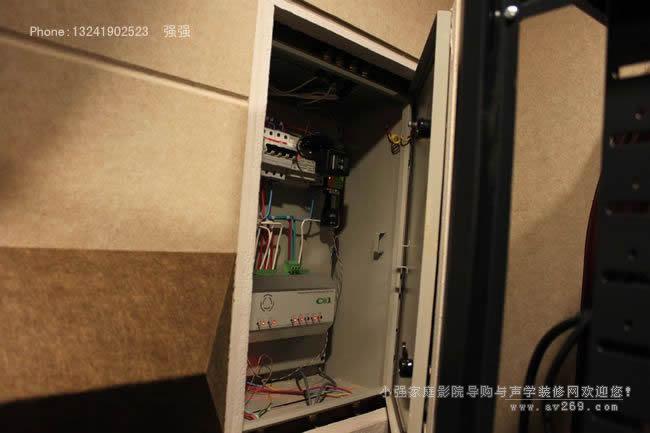 家庭影院智能控制机箱