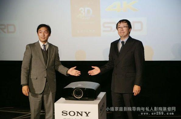 SONY VPL-VW500ES投影机上市