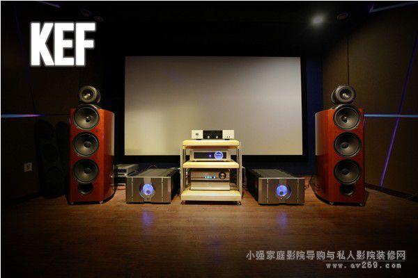 KEF旗舰扬声器试听会 PASS助阵更享精准原音