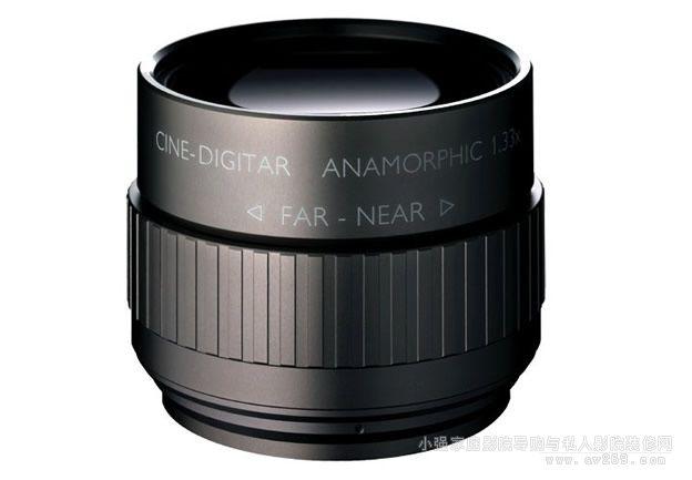 顶级柱状透镜型变形镜头代表作 Schneider Optics Cine-Digitar Anamorphic 1.33x系列