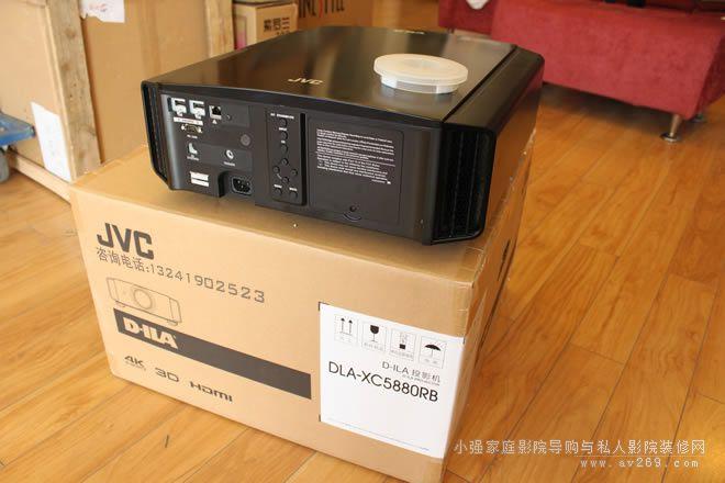 JVC 4K投影机开箱