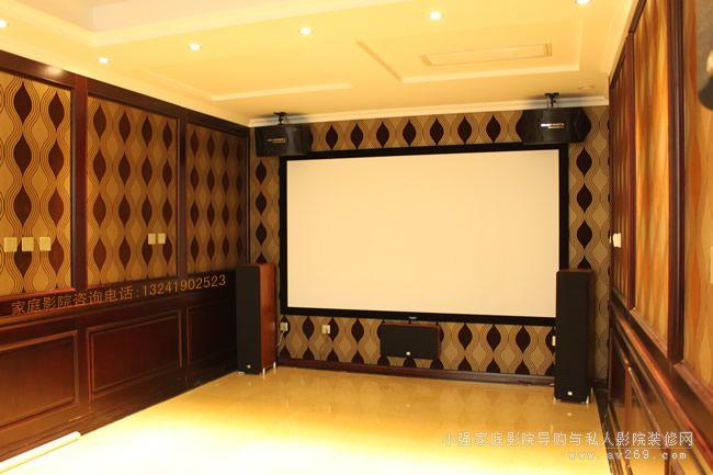 经典JBL系列音箱组建特色私人影院系统