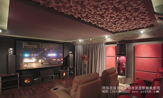 家庭影院影音室要兼顾空间合理与音响系统