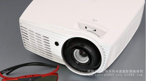 高清奥图码HD50 3D投影机首测