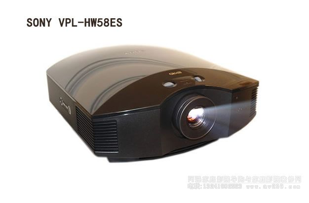索尼3D投影机HW58ES介绍