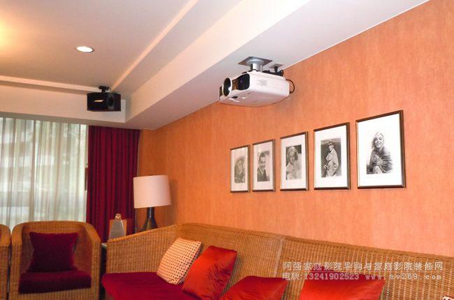 爱普生投影机在客厅