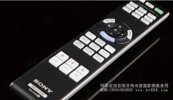索尼HW40投影机摇控器