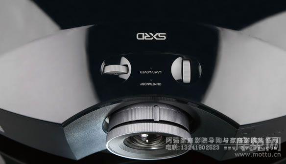 索尼HW40投影机镜头