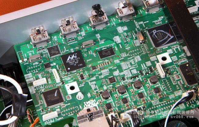 安桥功放636电路板
