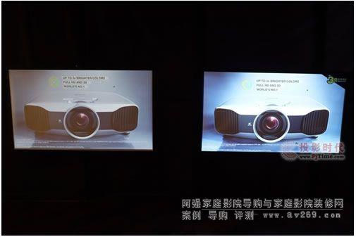 爱普生家用投影机主打3倍亮度及无线传输
