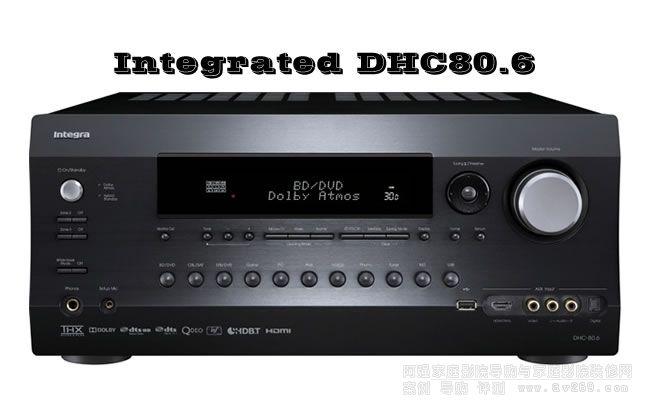 Integra DHC80.6功放 英桥功放前级
