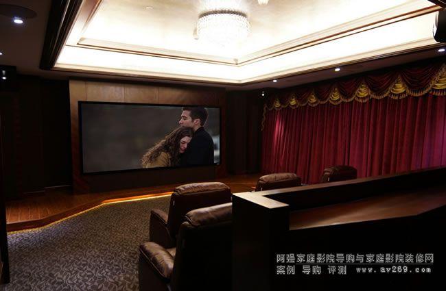 低调的百万私人影院系统 11.2多声道系统+4K超高清投影机