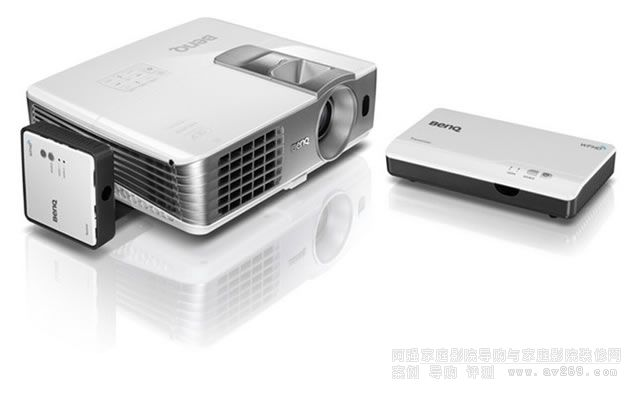 明基W1075+无线模块套装