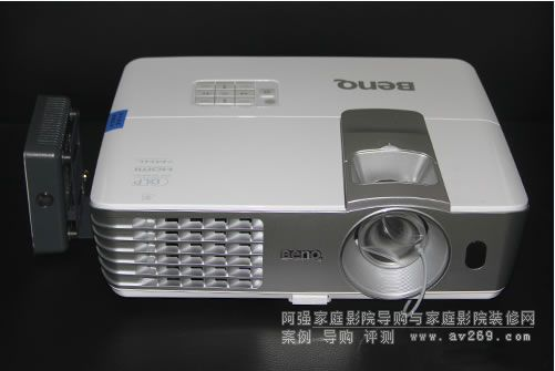 明基W1075投影机