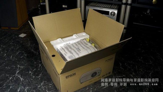 爱普生TW6600开箱
