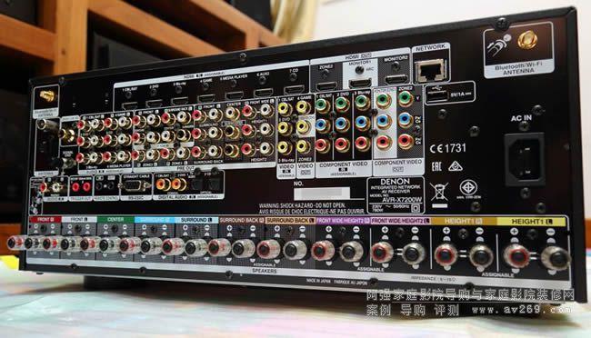 DENON AVR X7200W开箱评测