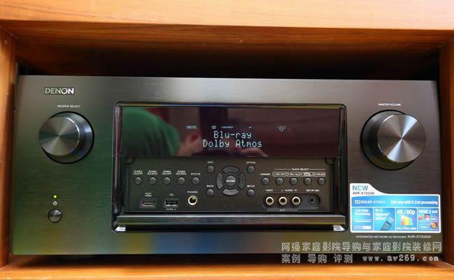 DENON AVR X7200W天龙功放价格