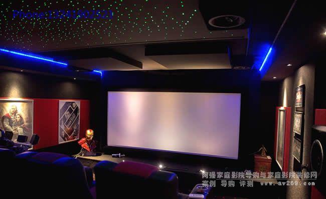4K超高清动感私人影院案例