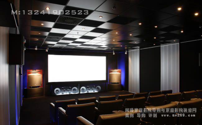 绝对低调中的奢华 超百万打造JBL极品影院工程案例欣赏
