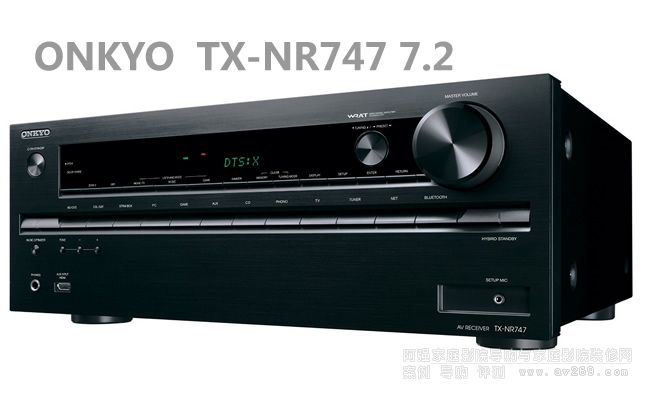 ONKYO TX-NR747安桥功放介绍