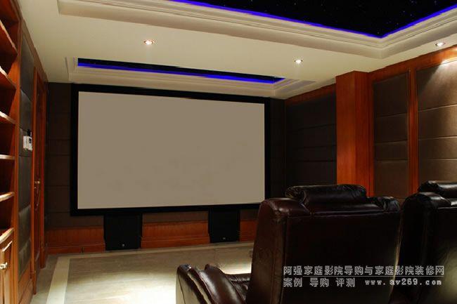 来自浙江的私人家庭影院 别墅地下室影院案例欣赏