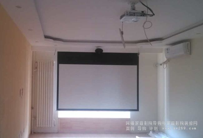客厅影院安装案例